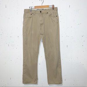 Eddie Bauer Khaki Tan Brown Pants 34x32